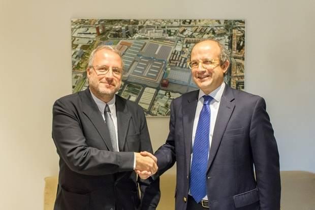 Daniel Calleja, director de Medio Ambiente de la Comisión Europea, visita la Fira de Barcelona