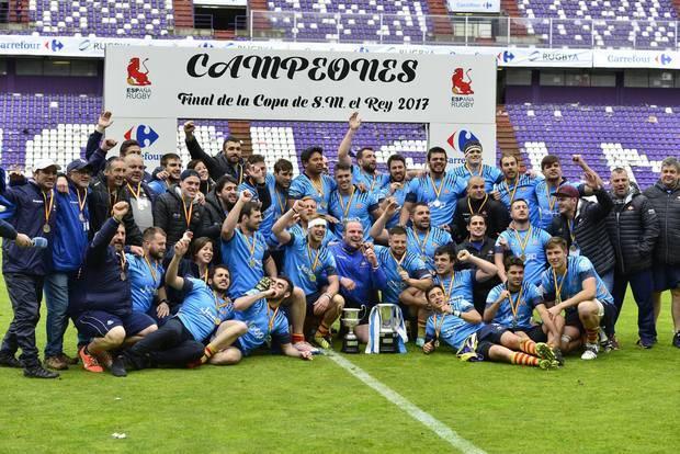 La UE Santboiana guanya la Copa del Rei (16-6) després de superar clarament al Salvador de Valladolid