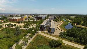 Los hechos sucedieron junto al campus de la UPC -en la foto- y el Canal Olímpic.