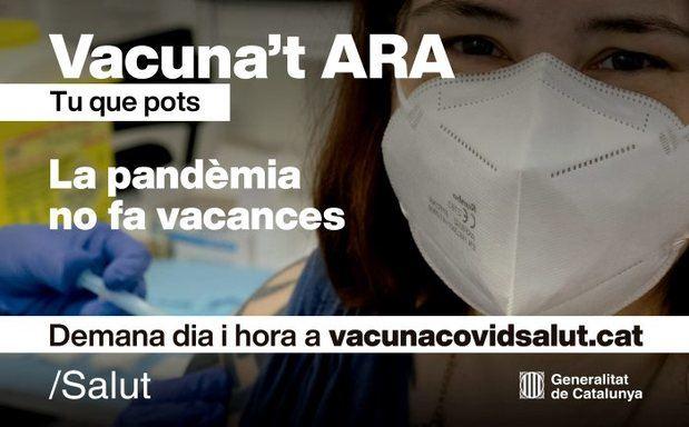 Ocho de cada diez vecinos de L'Hospitalet tiene al menos una dosis de la vacuna contra el covid-19