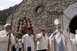 La festa de Sant Gil omple la Vall de Núria d'activitats