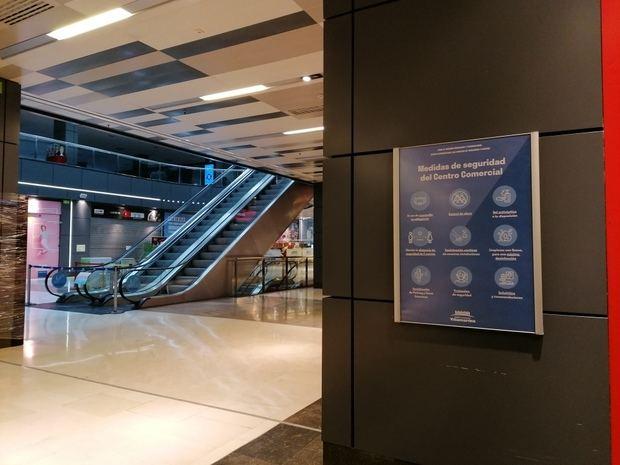 AENOR certificará que el Centro Comercial Vilamarina reabre libre de covid-19