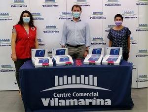 Vilamarina apoya un programa para ayudar a niños con pocos recursos de Viladecans