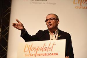Antoni Garcia, candidato de ERC, presentado el sábado en el Casino.