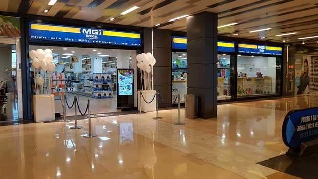 MGI abre una tienda en el centro comercial Vilamarina