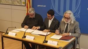Generalitat, AMB y cinco municipios del delta convertirán la C-245 en la Gran Vía del Baix Llobregat
