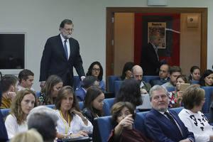 Rajoy comparece tras el Consejo de Ministros que acordó la aplicación del artículo 155