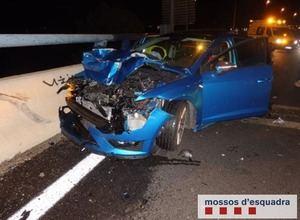 Denunciados penalmente cuatro jóvenes causantes de sendos accidentes bajo los efectos del alcohol