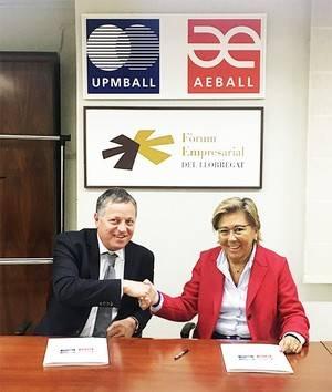 La patronal Aeball firma un acuerdo con Foro Capital Pymes para impulsar la pequeña y mediana empresa del territorio