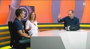'En Joc' entrevista a Robert Caneda y Berta Velasco, entrenador y jugadora del AE Penya Esplugues de fútbol sala