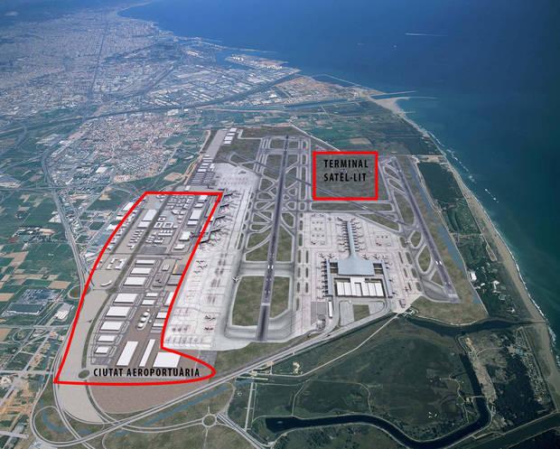 Los accesos al Port de Barcelona y al Aeropuerto de El Prat y la ciudad aeroportuaria, retos pendientes del Plan Delta de 1994