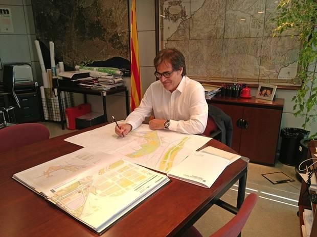 Agustí Serra es el director general de Ordenación del Territorio y Urbanismo de la Generalitat de Catalunya