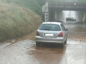 Sant Andreu pedirá la declaración de zona catastrófica por los aguaceros de la semana pasada