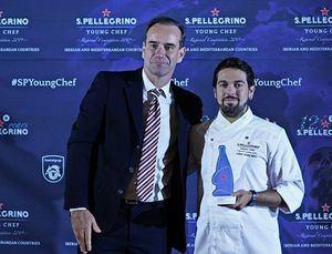 Albert Manso, ganador de la semifinal regional S. Pellegrino Young Chef