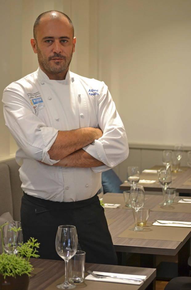 Albert Mendiola, chef del Marimorena