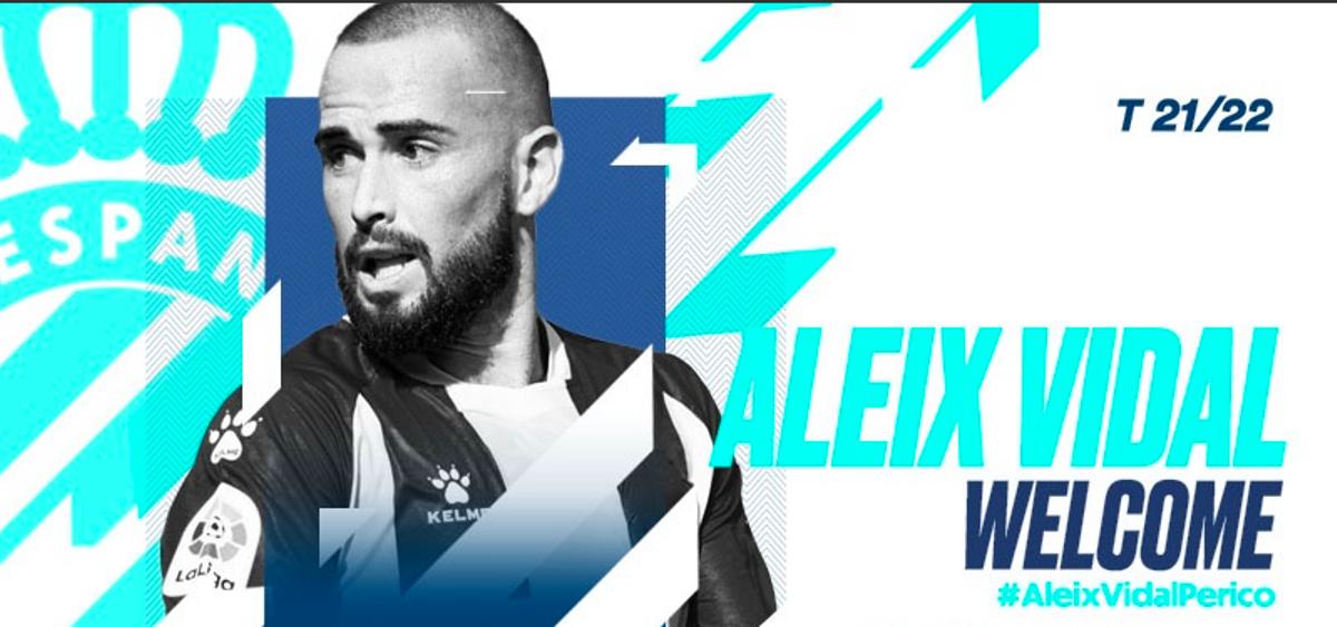 Aleix Vidal, nuevo jugador del Espanyol