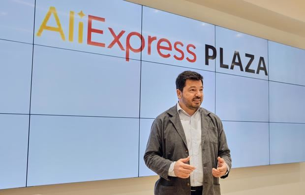 William Wang, director general de AliExpress España.