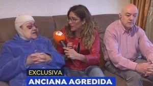 La anciana agredida habla sobre el suceso en Antena 3.