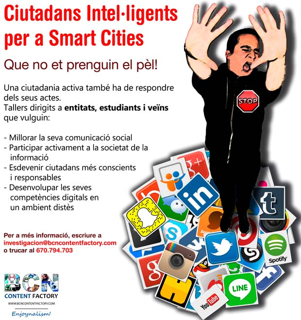 Ciutadans Intel·ligents per a Smart Cities