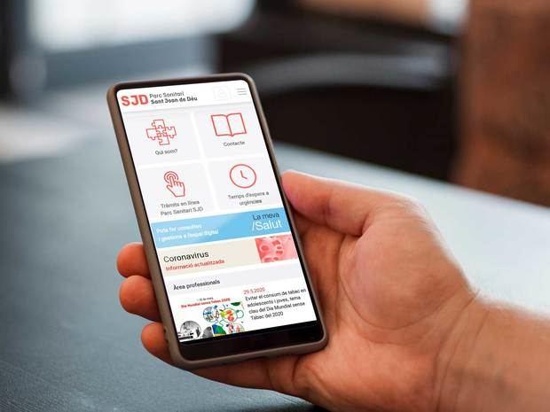 El Parc Sanitari Sant Joan de Déu estrena una aplicación para hacer trámites on line
