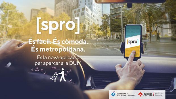 Sant Boi estrena la app metropolitana para el uso de la carga y descarga