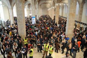 Esta imagen no se repetirá en Drassanes tras el salto del festival a L'Hospitalet