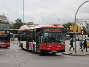 Els treballadors d'Autobusos de TMB amplien la vaga al Mobile World Congress