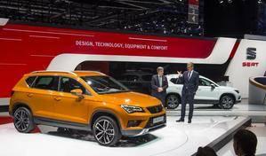 Seat luce su nuevo SUV en el Salón del Automóvil de Ginebra