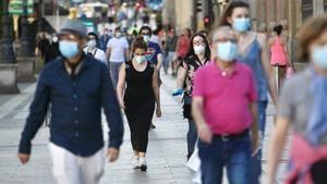 El riesgo de rebrote de covid-19 se dispara en varios municipios del Baix y en L'Hospitalet