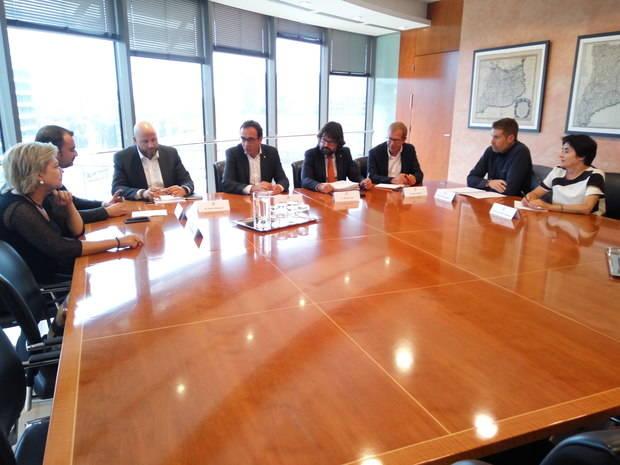 Generalitat y Ayuntamientos reclaman a Fomento que acelere las obras de la B-40 entre Olesa de Monserrat y Viladecavalls