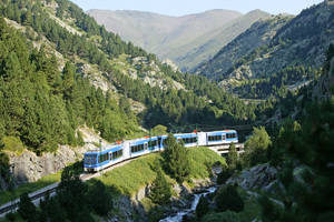 FGC millora la via del Cremallera de la Vall de Núria amb una inversió d'1,2 milions d'euros