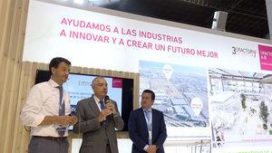 Presentación del proyecto DFactory en la Barcelona Industry Week.