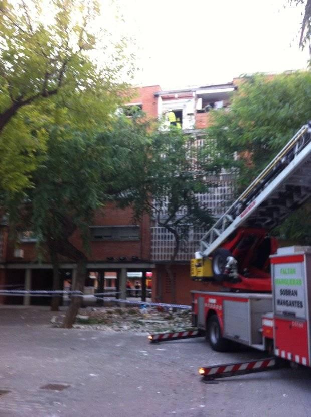 Detingut l'home ferit lleu a l'explosió d'un pis a L'Hospitalet