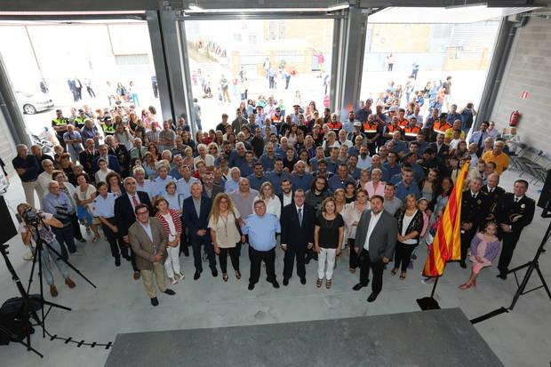 Sant Vicenç dels Horts inaugura el seu nou Parc de Bombers Voluntaris