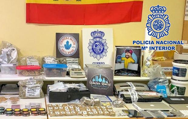 Desmantelada la banda de narcotraficantes de 'Breaking Bad' en L'Hospitalet