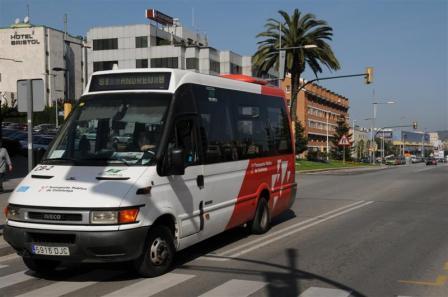 Un nou bus connectarà Sant Andreu de la Barca amb el municipi veí de Castellbisbal