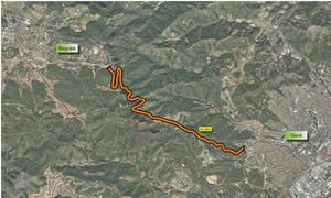 Territori i Sostenibilitat licita las obras de mejora de la BV-2041 entre Gavà y Begues, una de las más peligrosas de Cataluña