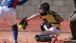 Imagen del Campionat de Catalunya senior DH Softbol.
