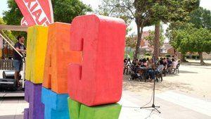 Celebración y presentación de la app y carné para jóvenes en el parque de Can Xic de Viladecans.