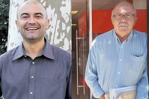 Cara a cara de Antoni Fornés y Jesús Vila, ambos colaboradores de El Llobregat, para debatir sobre fe y ateísmo