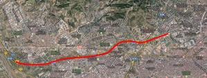 Territori i Sostenibilitat envia a Foment el projecte d'un carril Bus de set quilòmetres que unirà Sant Feliu de Llobregat amb la Diagonal