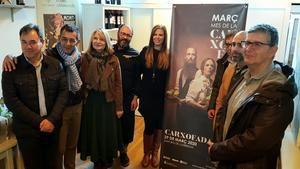 Presentación de la Carxofada de 2020 en la Taberna Marimorena de Sant Boi