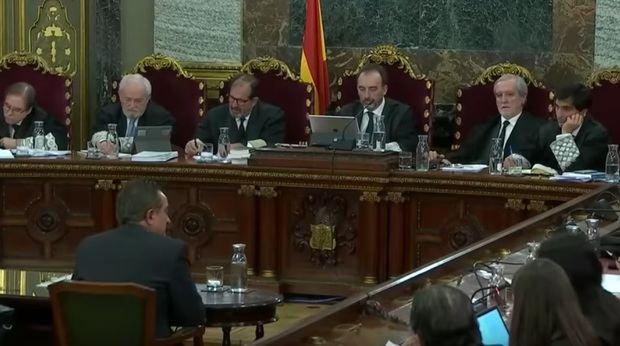 El comisario Castellví de los Mossos declara como testigo ante el tribunal.