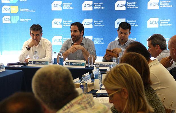 L'Associació Catalana de Municipis exige en Sant Climent que el gobierno de Sánchez derogue la reforma local