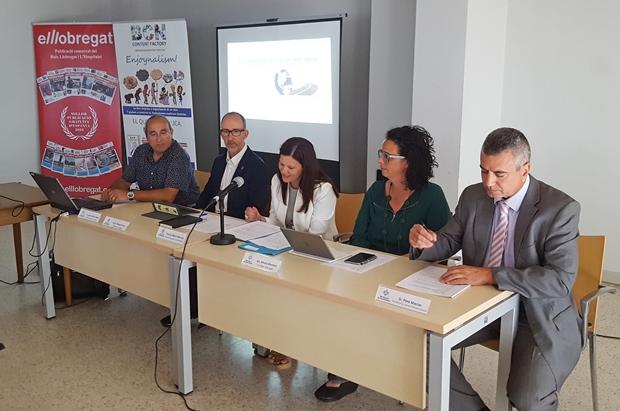 Imagen del último debate sobre playas en Castelldefels. La fundación, que se ha convertido en un excelente punto de reflexión sobre las infraestructuras del territorio, lleva casi una decena de debates en el Baix Llobregat y L'Hospitalet