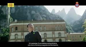 La Colònia Güell y Montserrat, cartas de presentación de Cataluña en China