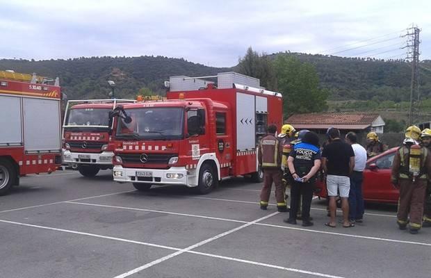 Una reacció tòxica al CIES i la piscina d'estiu de Martorell deixa dos ferits i una trentena de persones desallotjades