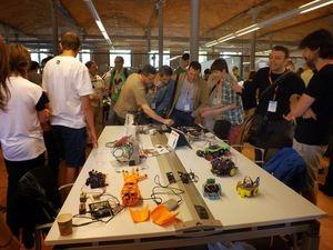 Las jornadas de programación y robótica educativa del pasado año.