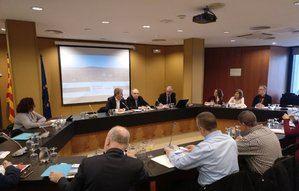 Presentación del Consejo Asesor en la sede del Área Metropolitana de Barcelona.