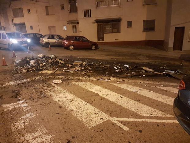 Nuevos episodios de quema de contenedores en Olesa